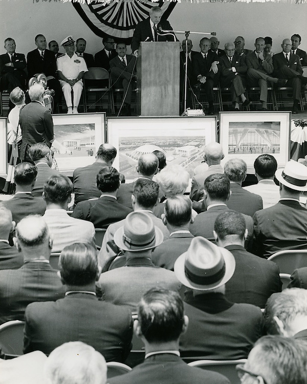 1968 June 06..Redevelopment...Downtown North (R-8)..Scope Cultural and Convention Center Groundbreaking Ceremony..Sam McKay.NEG# SLM68-44-15..