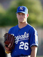 Crawford Simmons - AZL Royals (2009 Arizona League) .Photo by:  Bill Mitchell/Four Seam Images..