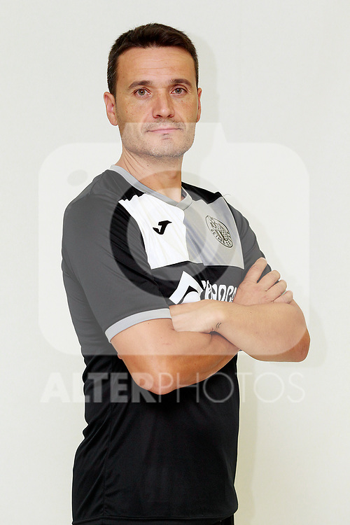 Getafe CF's physical trainer Javier Vidal during the session of the official photos for the 2017/2018 season. September 19,2017. (ALTERPHOTOS/Acero)