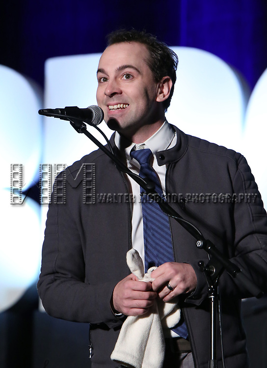 "Rob McCure from ""Mrs Doubtfire"" during the BroadwayCON 2020 First Look at the New York Hilton Midtown Hotel on January 24, 2020 in New York City."