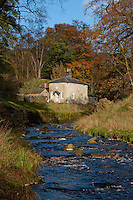 Marshaw Wyre and Tower Lodge, Marshaw, Over Wyresdale, Forest of Bowland, Lancashire, UK..This small house was intended as a gate lodge for Wyresdale Tower.The main project was never completed and Wyresdale Tower is now a ruin.