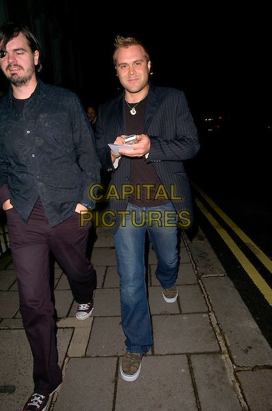 "DANIEL BEDINGFIELD.At the UK Premiere of ""Amazing Grace"",.Curzon Mayfair Cinema, London, England,.March 19th 2007..full length jeans black jacket trainers beddingfield.CAP/CAN.©Can Nguyen/Capital Pictures"