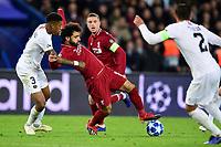 KIMPEMBE Presnel (PSG) vs Mohamed Salah (Liverpool) <br /> Parigi 28-11-2018 <br /> Paris Saint Germain - Liverpool Champions League 2018/2019<br /> Foto JB Autissier / Panoramic / Insidefoto <br /> ITALY ONLY