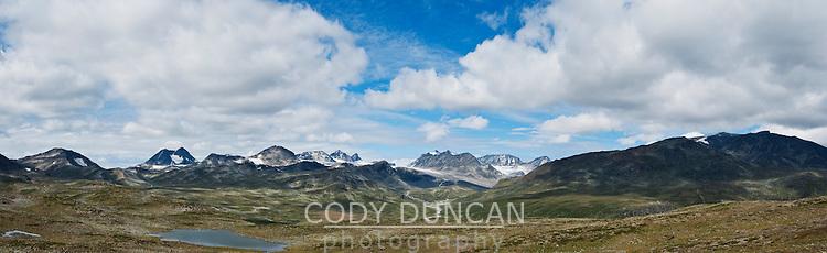 Mountain landscape of Jotunheimen national park, Norway