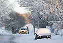 27/12/14<br /> <br /> Cars abandoned on the A515 between Ashbourne and Buxton this morning after heavy overnight snowfall.<br /> <br /> All Rights Reserved - F Stop Press. www.fstoppress.com. Tel: +44 (0)1335 300098