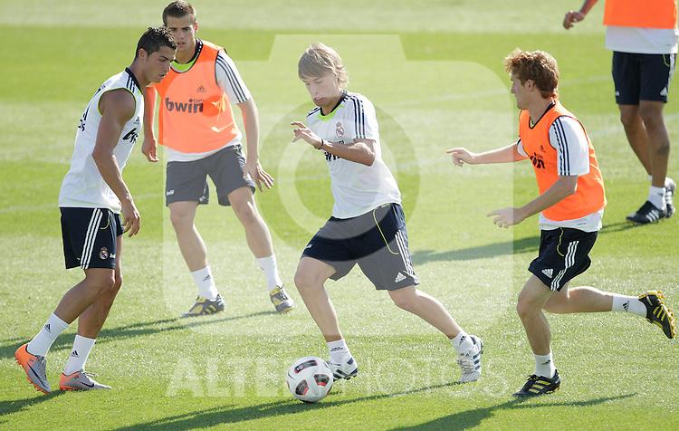 MADRID (11/08/2010).- Real Madrid training session at Valdebebas. Sergio Canales...Photo: Cesar Cebolla / ALFAQUI