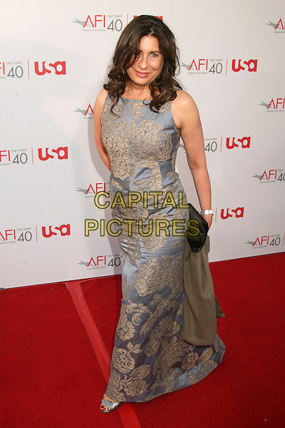 PAULA WAGNER.35th Annual AFI Life Achievement Award Honoring Al Pacino at the Kodak Theatre, Hollywood, California, USA.7 June 2007..full length.CAP/ADM/BP.©Byron Purvis/AdMedia/Capital Pictures.