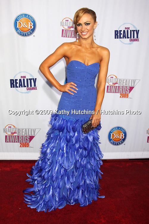 Karina Smirnoff.arriving at the 2009 Fox Reality Channel Really Awards.The Music Box at Fonda Theater.Los Angeles,  CA.October 13,  2009.©2009 Kathy Hutchins / Hutchins Photo.