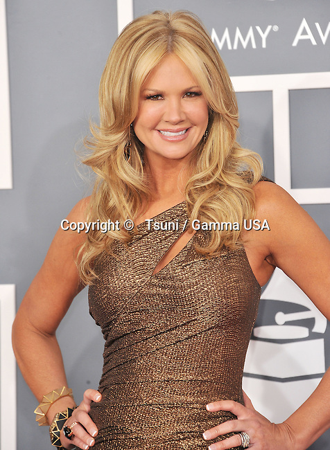 Nancy O Dell _533 at  the 55th Ann. Grammy Awards 2013 at the Staples Center in Los Angeles.