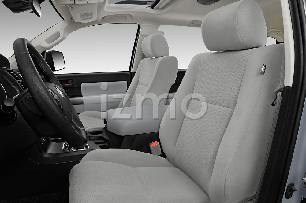 Front seat view of a 2018 Toyota sequoia sr 5 Door SUV front seat car photos