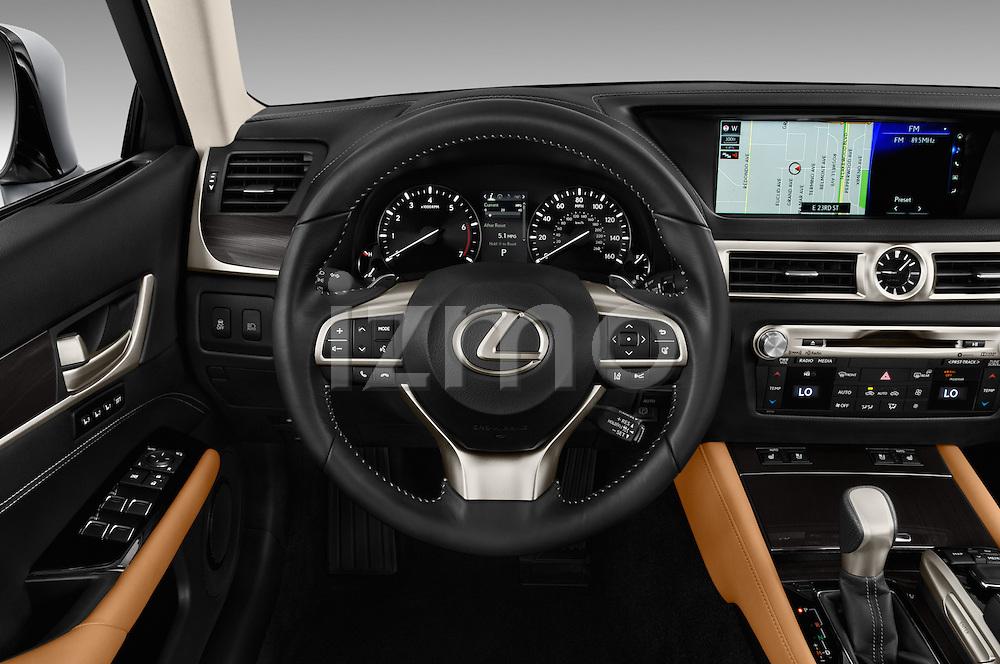Car pictures of steering wheel view of a 2016 Lexus GS 200t 4 Door Sedan Steering Wheel