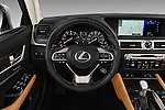 Car pictures of steering wheel view of a 2016 Lexus GS 200t 4 Door Sedan Steering Wheel