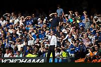 Burnley manager Sean Dyche <br /> <br /> Photographer Craig Mercer/CameraSport<br /> <br /> The Premier League - Chelsea v Burnley - Saturday August 12th 2017 - Stamford Bridge - London<br /> <br /> World Copyright &copy; 2017 CameraSport. All rights reserved. 43 Linden Ave. Countesthorpe. Leicester. England. LE8 5PG - Tel: +44 (0) 116 277 4147 - admin@camerasport.com - www.camerasport.com