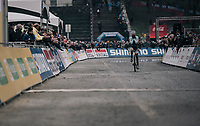 Evie Richards (GBR/TrekFactoryRacing) wins her very first Elite World Cup race<br /> <br /> Women's race<br /> UCI CX World Cup Namur / Belgium 2017