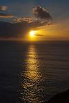 Sunset over the Atlantic Ocean Muckross Head, Kilcar, Donegal, Ireland