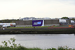 FLO GAS new logo on the Tanks Farm on the Marsh road in Drogheda..Picture:  www.newsfile.ie ..