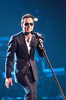 MIAMI, FL - AUGUST 3, 2012: Marc Anthony during the Gigant3s concert featuring, Marc Anthony, Chayanne and Marco Anotonio Solis at the American Airlines Arena in Miam, Florida. August 3, 2012. © Majo Grossi/MediaPunch Inc. /NortePhoto.com<br />