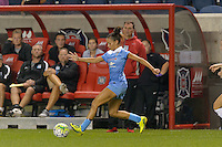 Chicago, IL - Wednesday Sept. 07, 2016: Sarah Gorden during a regular season National Women's Soccer League (NWSL) match between the Chicago Red Stars and FC Kansas City at Toyota Park.