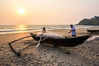 Goa, Galgibag and Talpona Beach, India