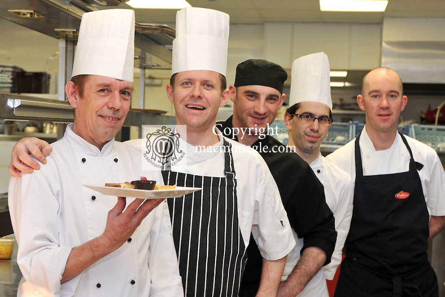 Robin Suter retires as chef at The Aghadoe Heights Hotel after 22 years of service..Picture by Don MacMonagle