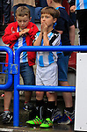 Huddersfield Town 1 Wolverhampton Wanderers 0, 27/08/2016. John Smith's Stadium, Championship. Young Huddersfield fans. Photo by Paul Thompson.
