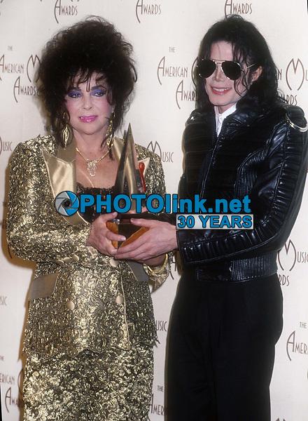 Elizabeth Taylor Michael Jackson 1993<br /> Michael Ferguson/PHOTOlink.net