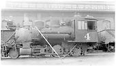 Fireman's-side view of C&amp;S 2-6-0 #4 at Denver.<br /> C&amp;S  Denver, CO  1930