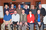 Tom O'Sullivan, Curraheen, celebrates his retirement after 42 Years Service with Kerry County Council at O'Donnell's with family and friends on Saturday Pictured front l-r Will O'Connell, John Clifford, Tom O'Sullivan, Helen O'Sullivan, Jamie O'Sullivan, back l-r Martin O'Connor, Neilus Daly, Thomas O'Riordan, Brendan Falvey, Sean Falvey and Joe Hanafin.