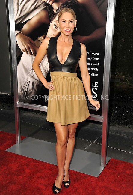 WWW.ACEPIXS.COM....September 4 2012, LA....Kym Johnson arriving at the Premiere Of CBS Films' 'The Words' at the ArcLight Cinemas on September 4, 2012 in Hollywood, California.......By Line: Peter West/ACE Pictures......ACE Pictures, Inc...tel: 646 769 0430..Email: info@acepixs.com..www.acepixs.com