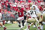 Wisconsin Badgers running back Bradrick Shaw (7) carries the ball during an NCAA College Football Big Ten Conference game against the Purdue Boilermakers Saturday, October 14, 2017, in Madison, Wis. The Badgers won 17-9. (Photo by David Stluka)