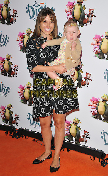 Adele Silva &amp; her daughter Sienna at the &quot;Digby Dragon&quot; world film premiere, The Conservatory, Barbican Centre, Silk Street, London, England, UK, on Saturday 02 July 2016.<br /> CAP/CAN<br /> &copy;CAN/Capital Pictures