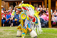 Usa,Wyoming, Cheyenne,native at pow wow in Frontier days 2017