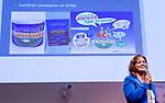 UTRECHT - Marij van Tienen over Sportiviteit tijdens  Hockeycongres bij de Rabobank in Utrecht. FOTO KOEN SUYK
