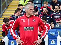 Bolton Wanderers' goalkeeping coach Lee Butler <br /> <br /> Photographer Andrew Kearns/CameraSport<br /> <br /> The EFL Sky Bet Championship - Blackburn Rovers v Bolton Wanderers - Monday 22nd April 2019 - Ewood Park - Blackburn<br /> <br /> World Copyright © 2019 CameraSport. All rights reserved. 43 Linden Ave. Countesthorpe. Leicester. England. LE8 5PG - Tel: +44 (0) 116 277 4147 - admin@camerasport.com - www.camerasport.com