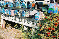 Photo of Mailboxes in Sausalito near Marina