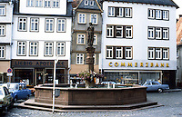 Butzbach: Fountain--Marketplatz.