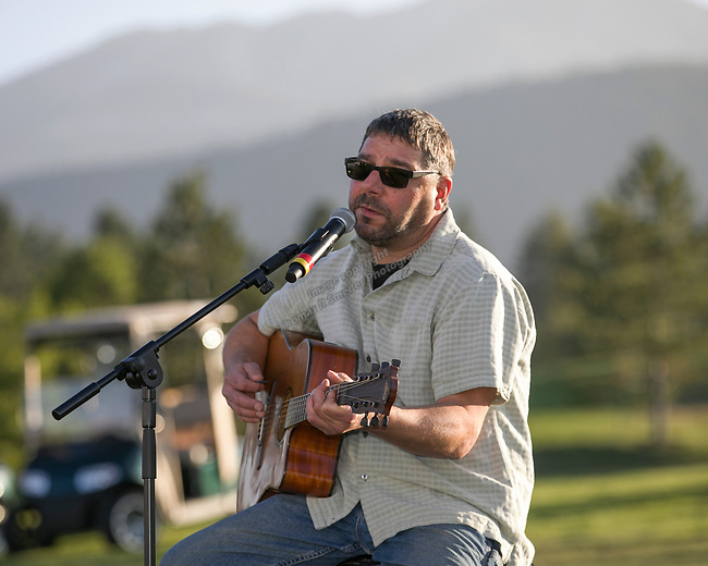 Joe Grissino performs during the Art of Childhood Gala and Fundraiser at Montreux Golf and Country Club on Friday, August 24, 2018.