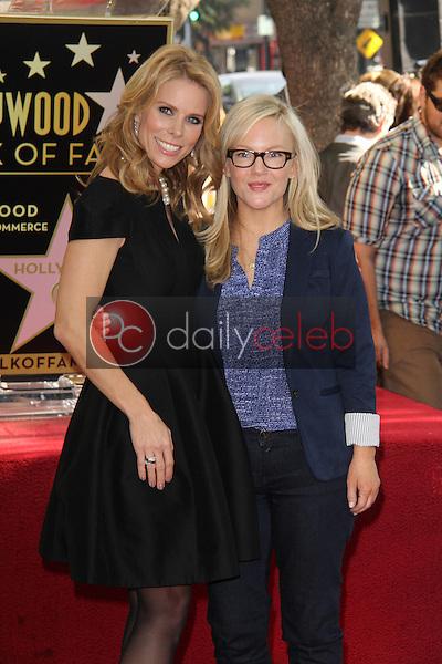 Cheryl Hines, Rachael Harris<br /> at the Cheryl Hines Star on the Hollywood Walk of Fame, Hollywood, CA 01-29-14<br /> David Edwards/DailyCeleb.Com 818-249-4998