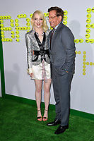 Emma Stone &amp; Steve Carell at the premiere for &quot;Battle of the Sexes&quot; at the Regency Village Theatre, Westwood, Los Angeles, USA 16 September  2017<br /> Picture: Paul Smith/Featureflash/SilverHub 0208 004 5359 sales@silverhubmedia.com