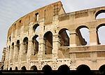 Exposed inner wall Southwest side Colosseum Rome
