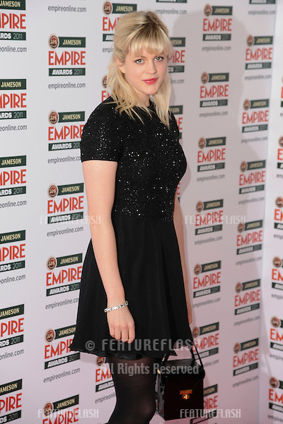 Georgia King arrives for the Empire Film Awards 2011 at the Grosvenor House Hotel, London. 27/03/2011  Picture by: Steve Vas / Featureflash