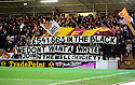 MOTHERWELL FANS MAKE THE MOST OF THE RANGERS SITUATION