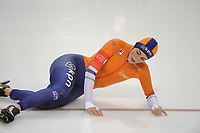 SPEEDSKATING: SALT LAKE CITY: 08-12-2017, Utah Olympic Oval, ISU World Cup, 500m Ladies A-Division, val Janine Smit (NED), ©photo Martin de Jong