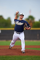 San Diego Padres pitcher Jacob Nix (24) during an instructional league game against the Milwaukee Brewers on October 6, 2015 at the Peoria Sports Complex in Peoria, Arizona.  (Mike Janes/Four Seam Images)