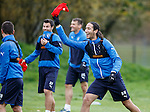 Bilel Mohsni throws his bib to the gaffer