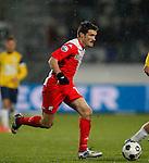 Nederland, Waalwijk, 21 april 2012.Eredivisie .Seizoen 2011-2012.RKC Waalwijk-FC Utrecht (0-2).Edouard Duplan van FC Utrecht in actie met bal