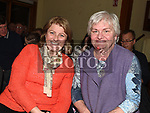 Margaret McCabe and Dorothy Barry at the Irish Doctors choir at an Grianan in aid of the Gary Kelly Centre. Photo:Colin Bell/pressphotos.ie
