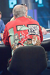 "Sklansky's ""Dogs Playing Poker"" shirt."