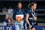 AMSTELVEEN  - assistent-coach Daan Sabel (Pin)  , hoofdklasse hockeywedstrijd dames Pinole-Laren (1-3). COPYRIGHT  KOEN SUYK