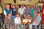 Bernie Donegan,seated front celebrated her 50th birthday with family anf friends in the Thatch bar Lisellton on Friday night. ..   Copyright Kerry's Eye 2008